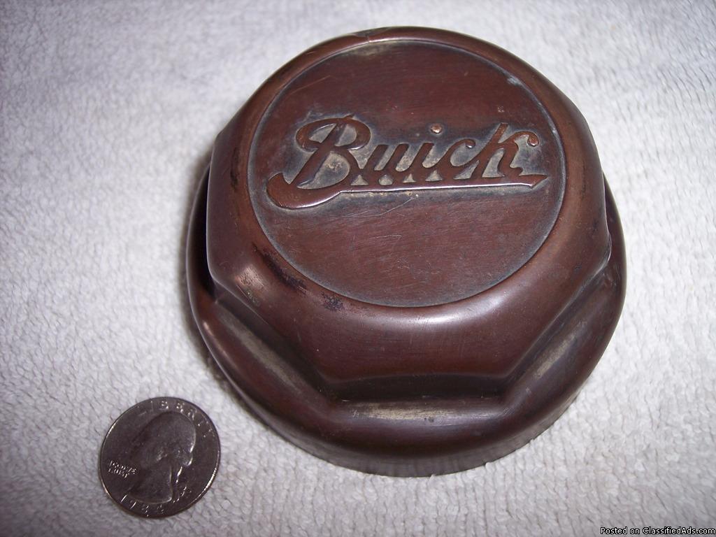 Brass Buick Hub Cap