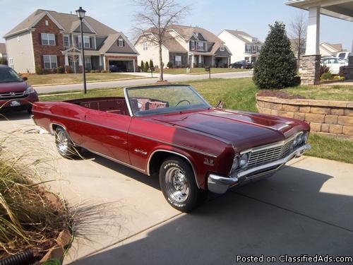 1966 Chevy Impala SS 427 Convertible
