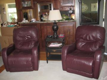 Leather Recliners..2