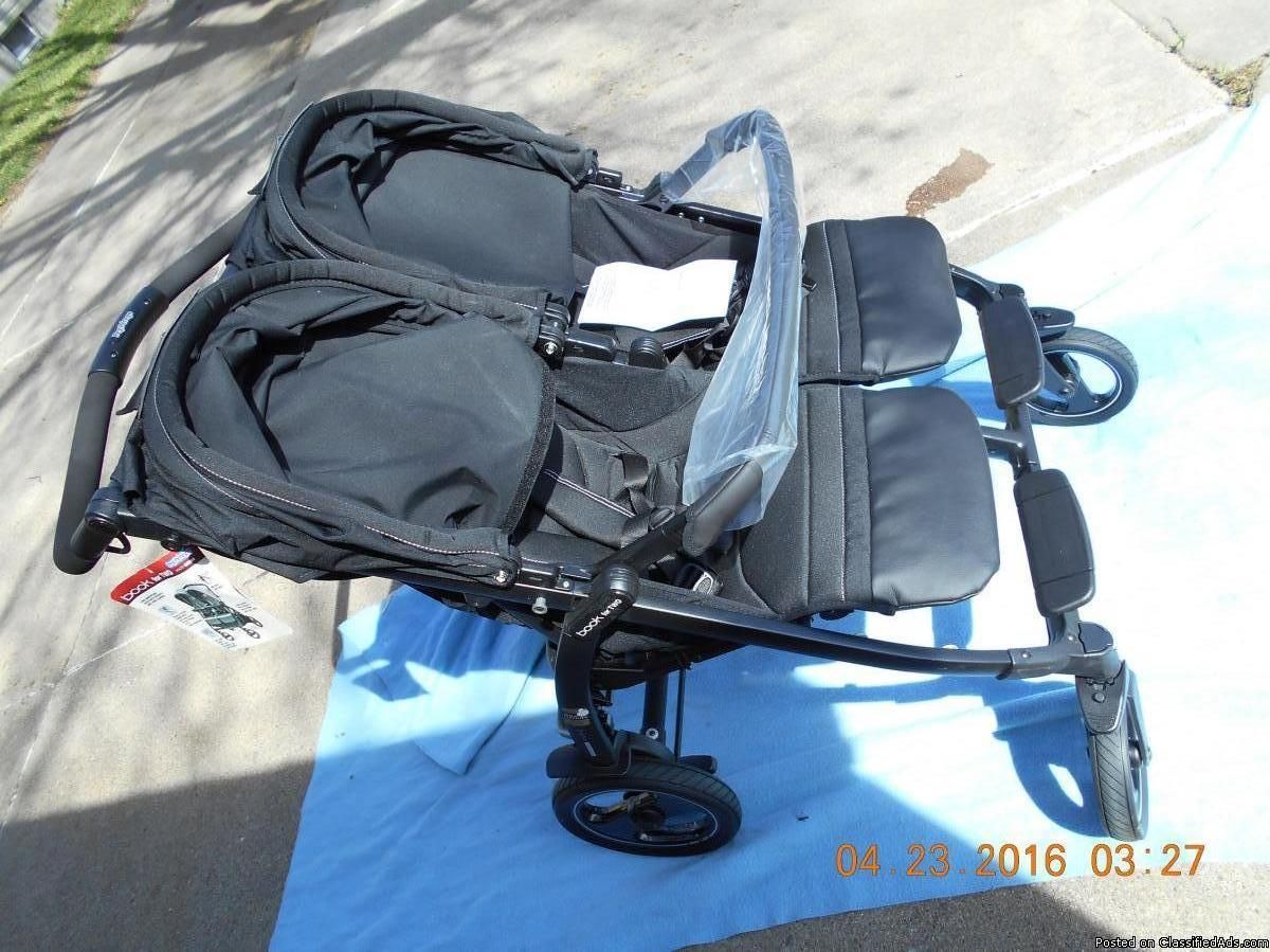 Photo Peg Perego Book for Two Double Stroller in Onyx