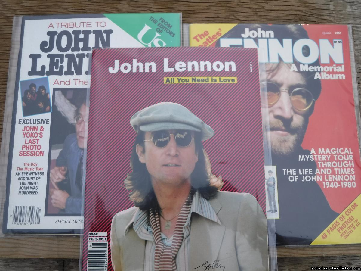 Photo John Lennon Magazines