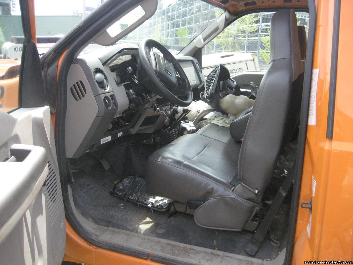Photo 2010 ford F550 4x4 diesel
