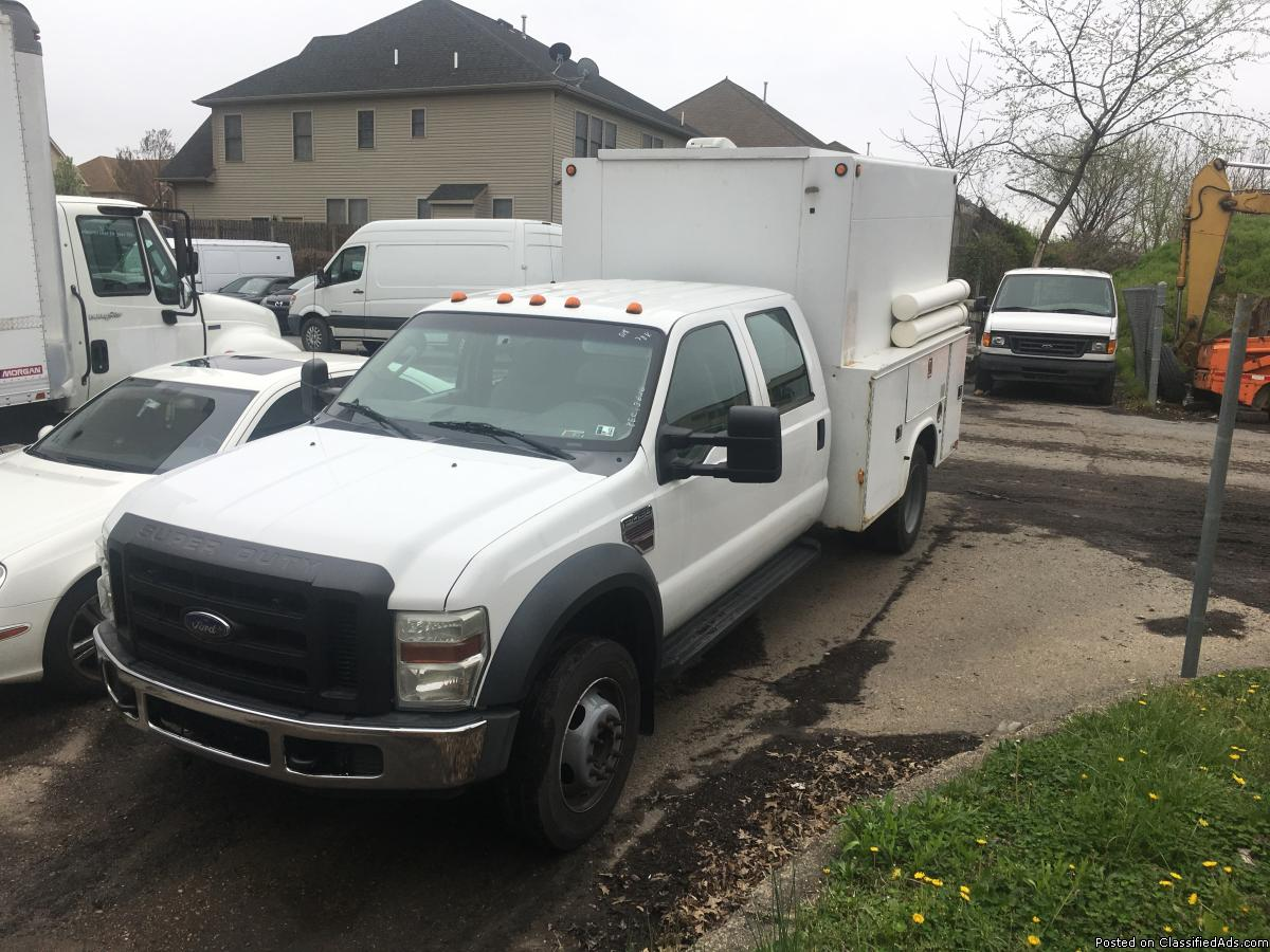 Photo 2008 ford f450 utility truck