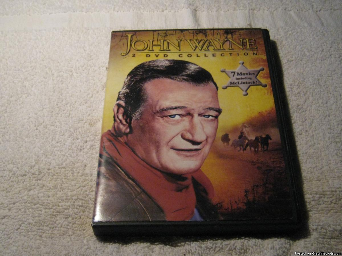 Photo John Wayne - 2 DVD Collection - 7 Movies, including McLintock!