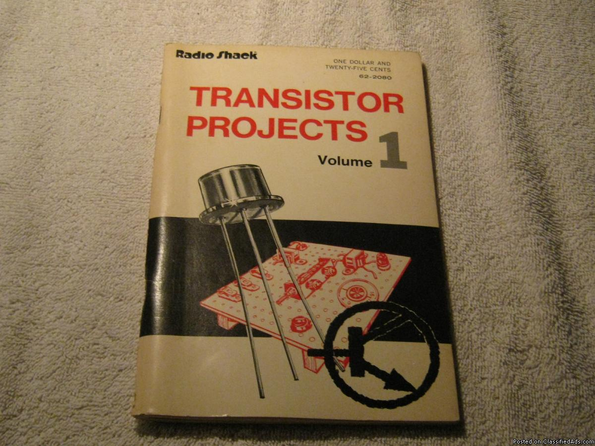 Photo Radio Shack - Transistor Projects Vol. 1 * 2nd Ed. 1977