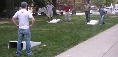 Photo Plan A Cornhole Game With Your Family And Have Fun!