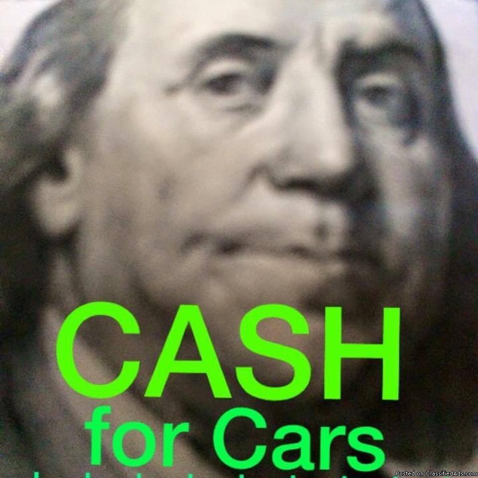 Photo SUPER FAST CASH TODAY for CARS*TRUCKS*SUVS