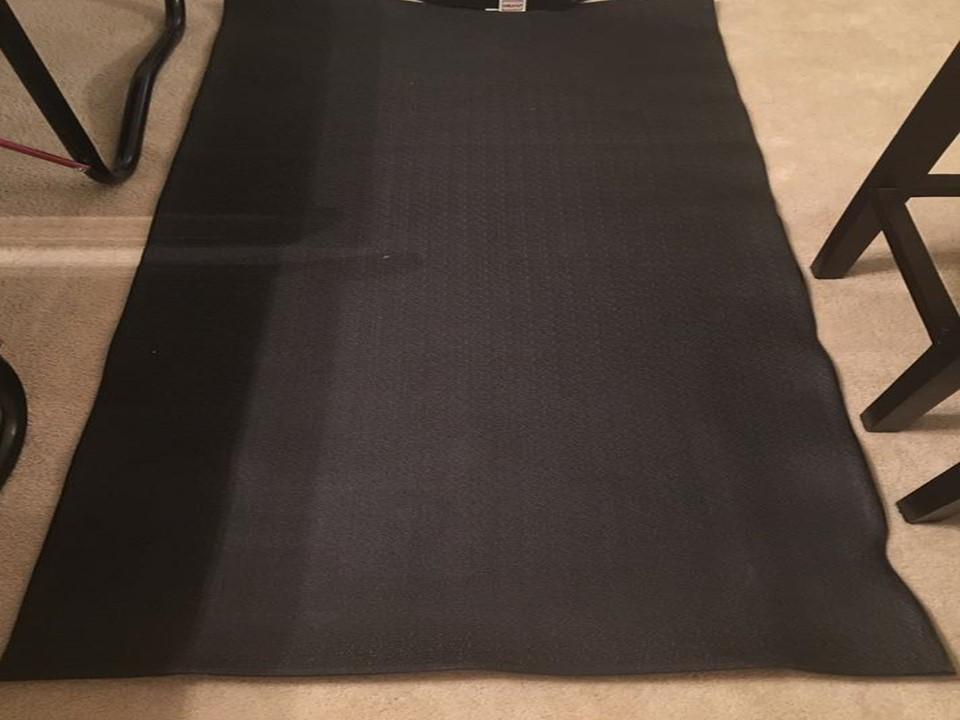 Photo Exercise Equipment Floor Protector