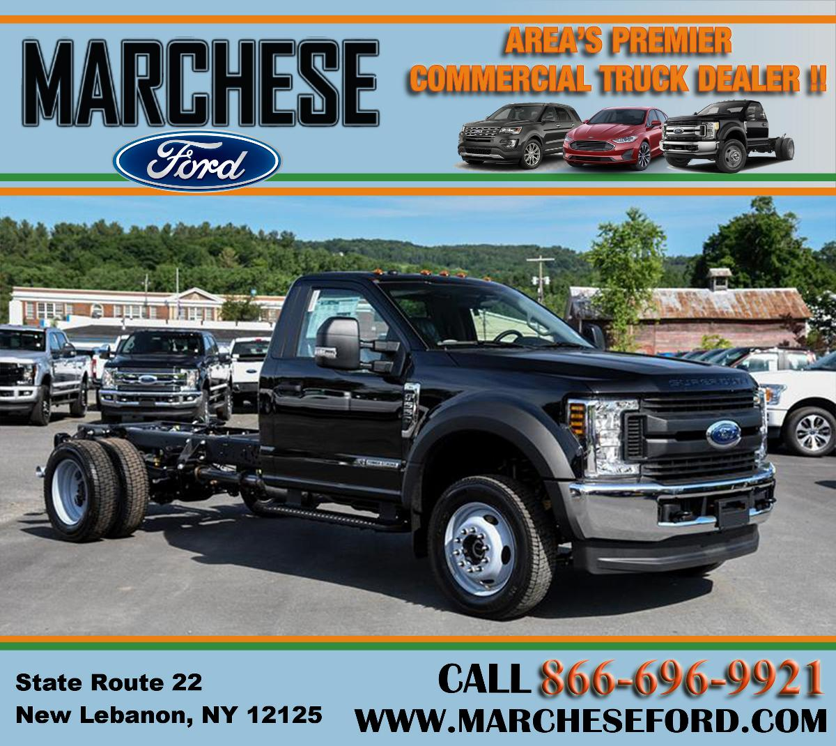 Photo 2019 Ford F550 Super Duty CAB CHASSIS! Diesel! BRAND NEW! #21412
