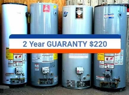 Photo GUARANTEE Water Heaters Gas Electric Hot Heater Boiler 75 50 40 30 Gallons