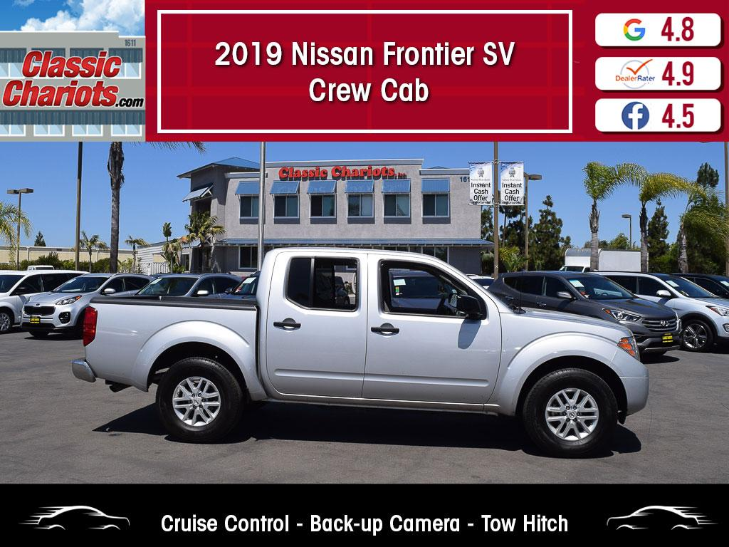 used 2019 nissan frontier sv crew cab for sale in san diego - 20301r