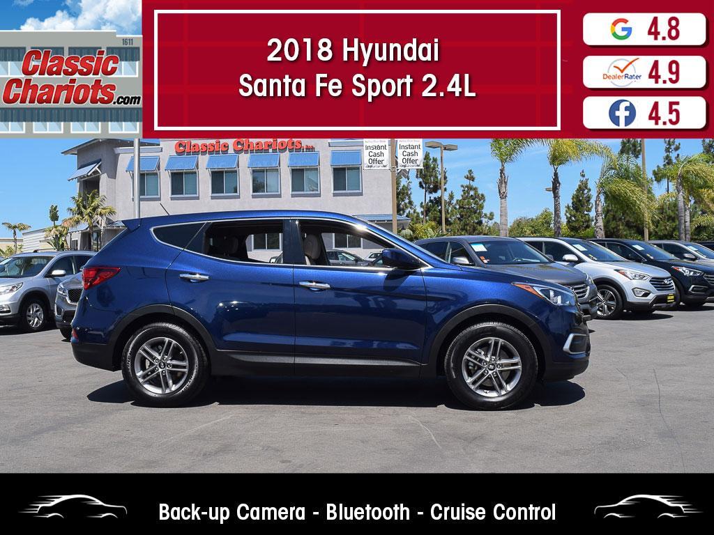 used 2018 hyundai santa fe sport 2.4l for sale in san diego - 20307r