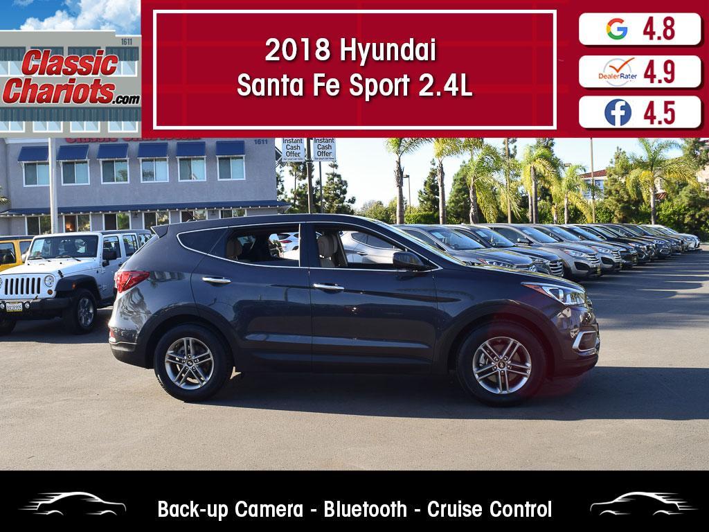 used 2018 hyundai santa fe sport 2.4l for sale in san diego - 20529r