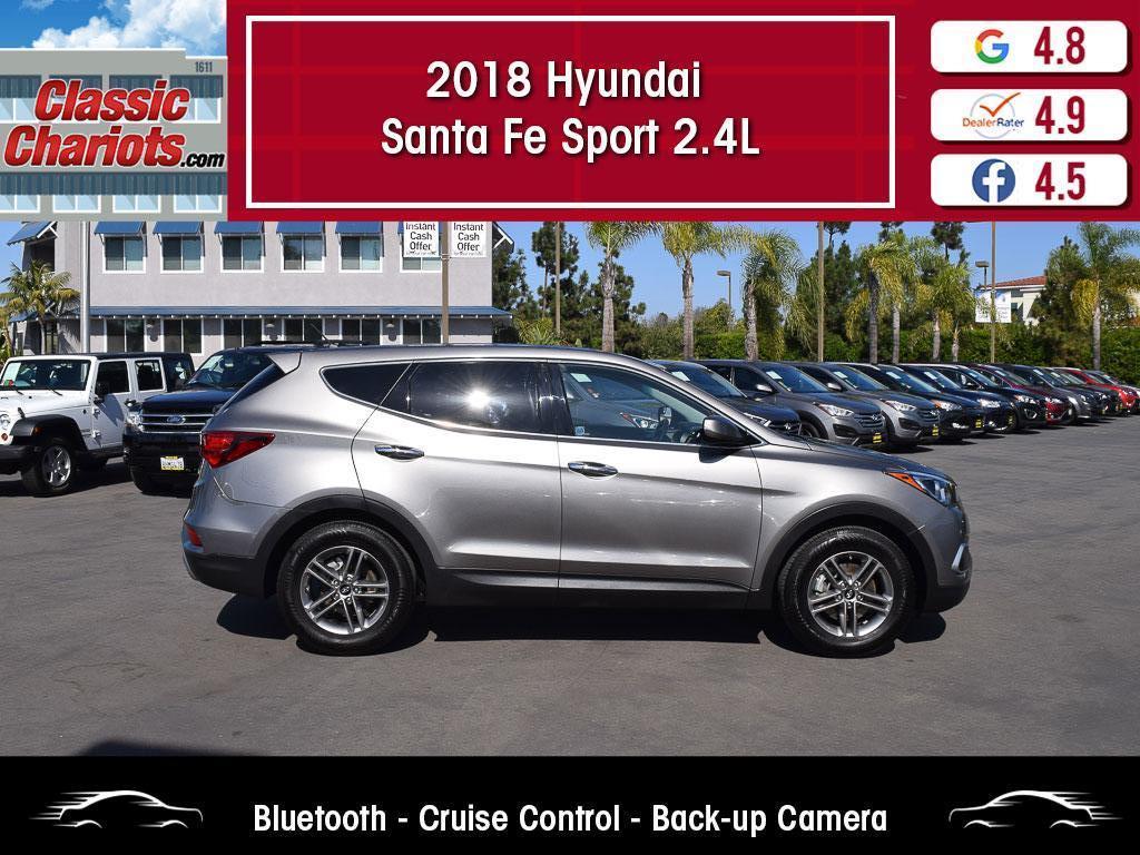 used 2018 hyundai santa fe sport 2.4l for sale in san diego - 20589r