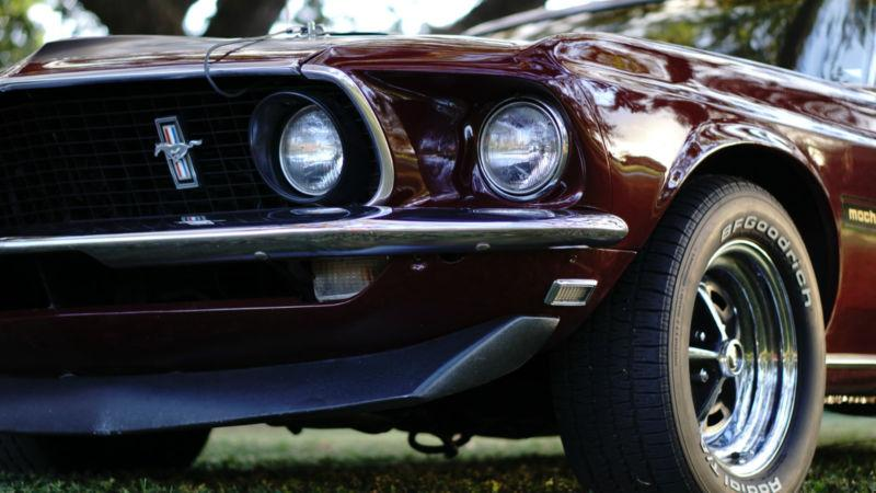 1969 - ford mustang