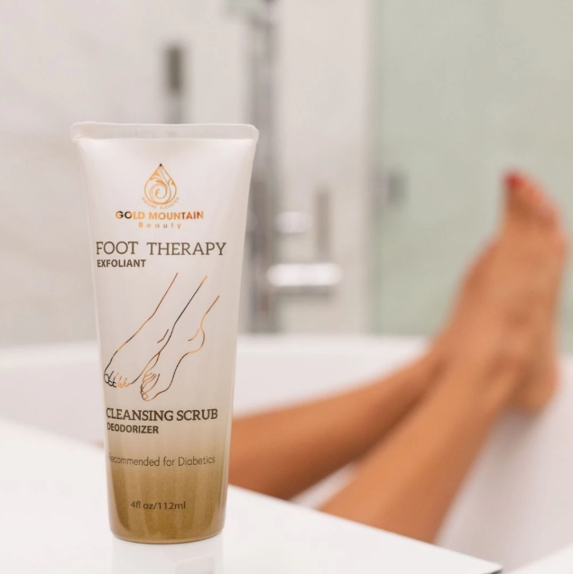 Photo Buy Best Natural Foot Cleaning Scrub At Gold Mountain Beauty