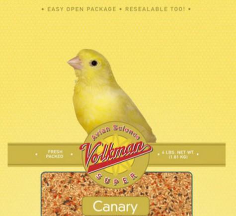 Photo Volkman Healthy Parrot Food for Pet Birds