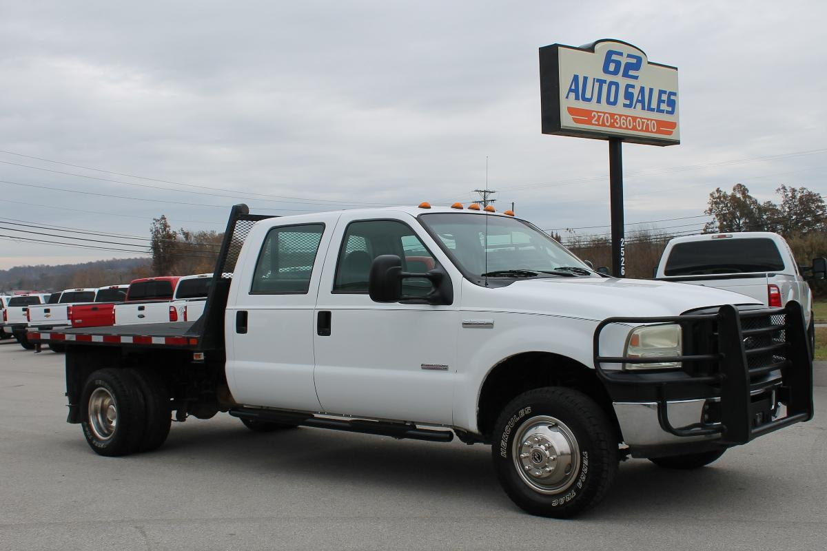 Photo 2006 Ford F-350 Crewcab Flatbed 4x4 #10885