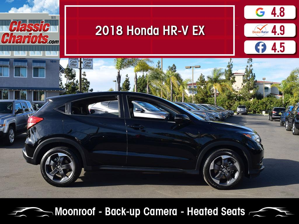 used 2018 honda hr-v ex for sale in san diego - 20844