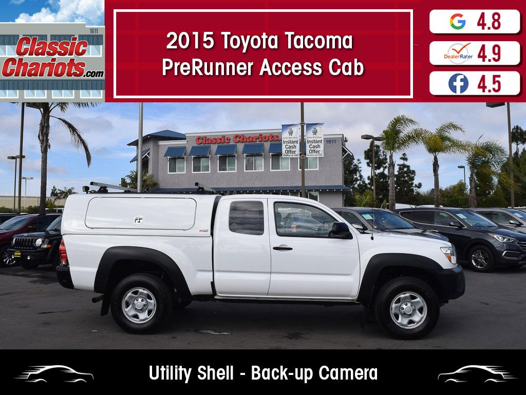 used 2015 toyota tacoma prerunner access cab for sale in san diego - 20714