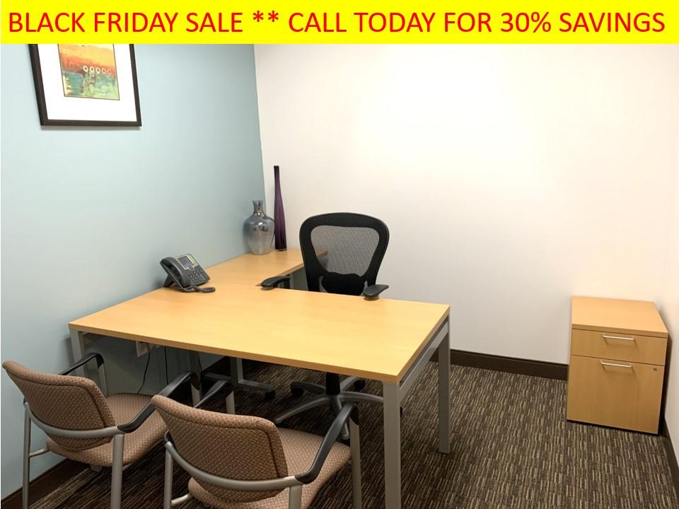 Photo Black Friday Deals on Private Offices Starts TODAY!