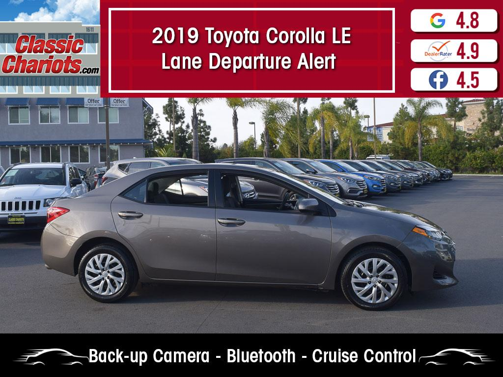 used 2019 toyota corolla le for sale in san diego - 20911r