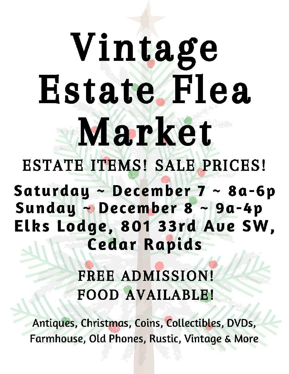 Photo Vintage Estate Flea Market