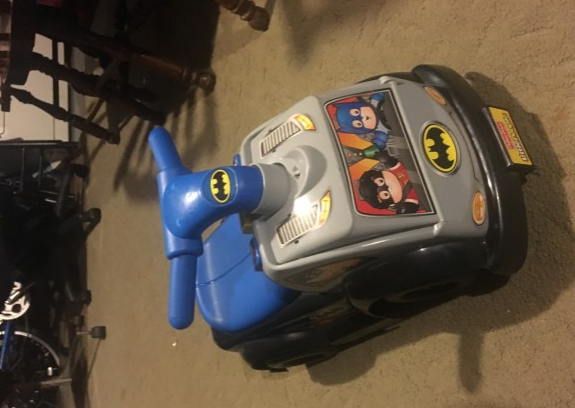 Photo Baby Toy- Batman car