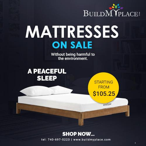 Photo Shop King Size Mattress and Sleep Relaxed
