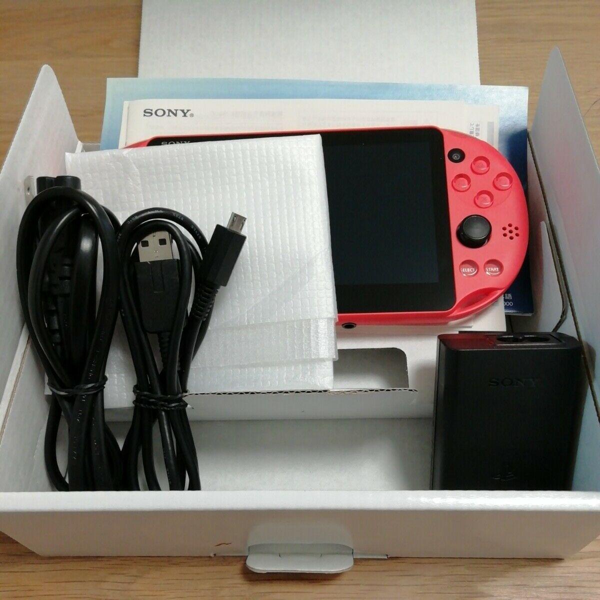 Photo New PS Vita Wi-Fi Console Neon Orange PCH-2000 ZA24