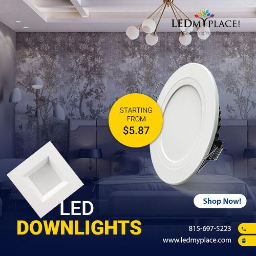 Photo Use LED Downlights To Save On Your Energy Bills