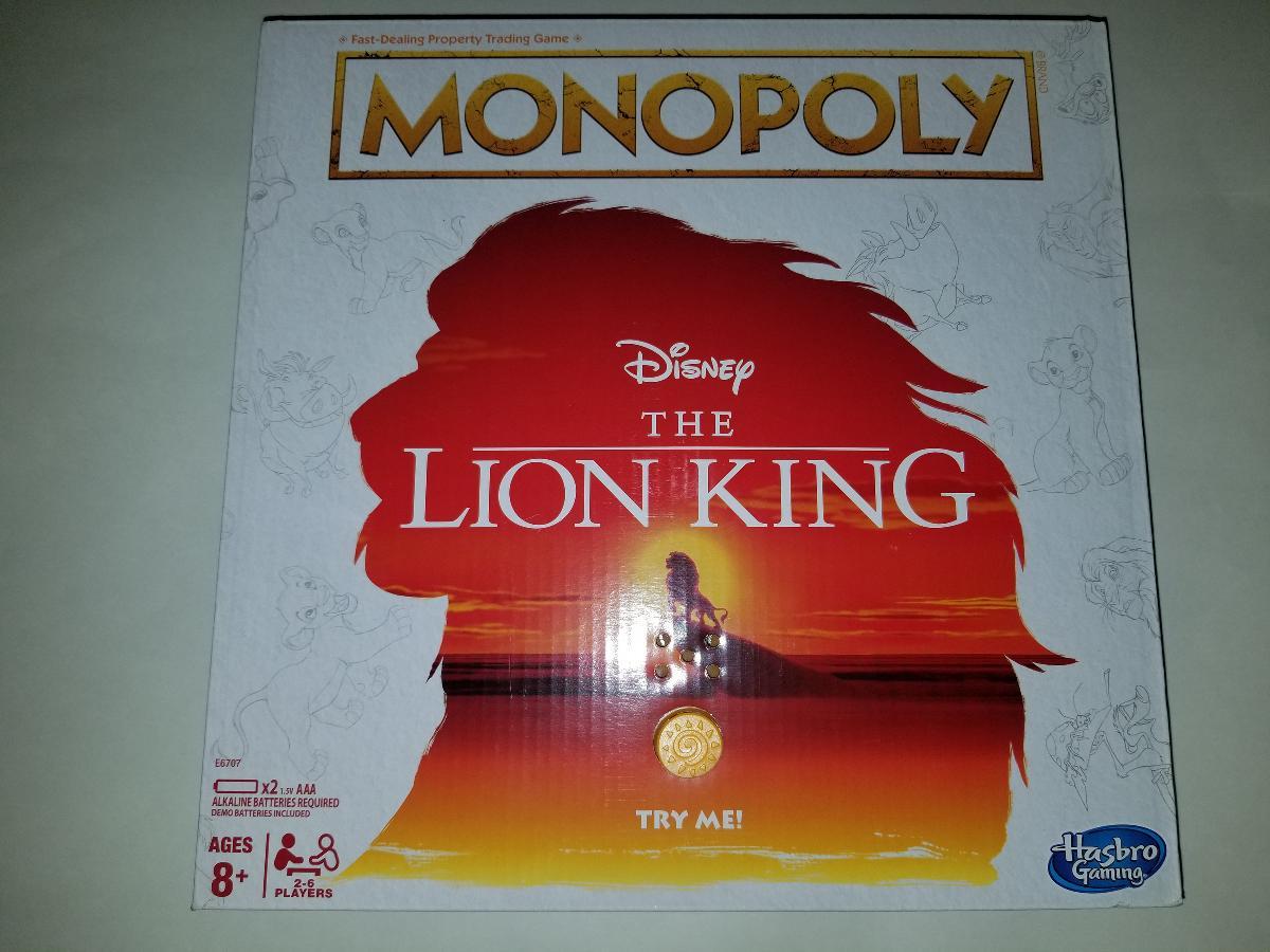 Photo Monopoly Disney The Lion King