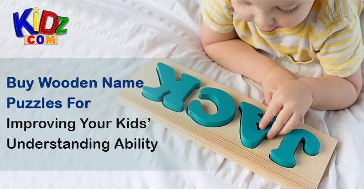 Photo Buy Wooden Name Puzzles For Improving Your Kids' Understanding Ability