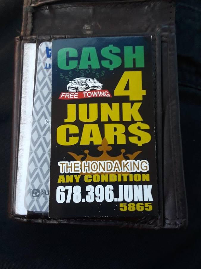Photo JUNK CARS GOING 4 SALE IF YOU GOT ONE YOU WANT GET RID NOW