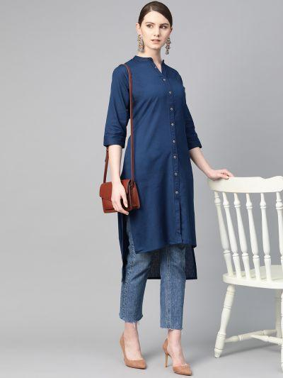 Photo LATEST GREEN SUMMER KURTI & A LINE SHAPE KURTI COLLECTION ONLY AT SHREELIFESTYLE