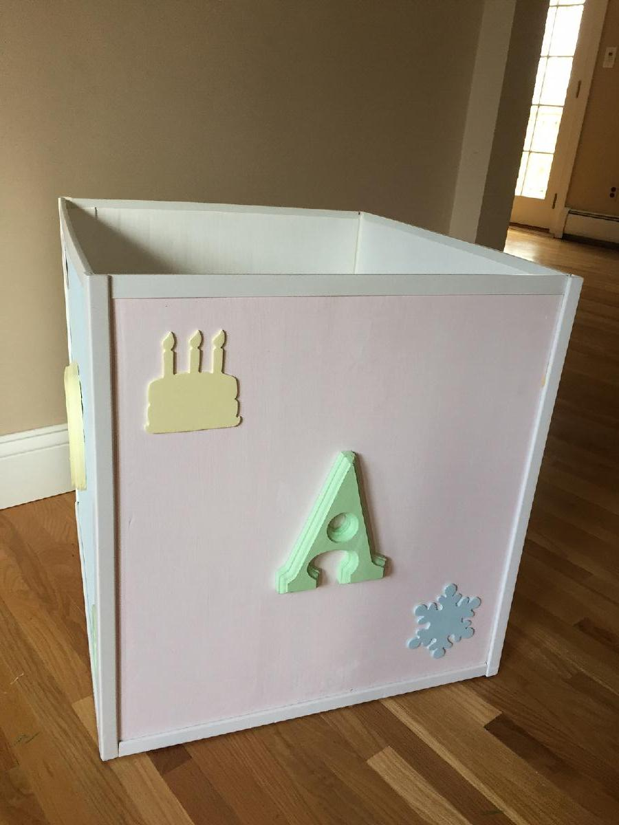 Photo Toy box OR Wishing well for baby shower