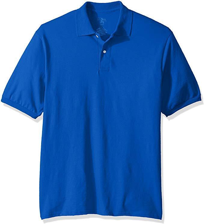 Photo Jerzees Men's Spot Shield Short Sleeve Polo Sport Shirt-$ 15.00 (Each)