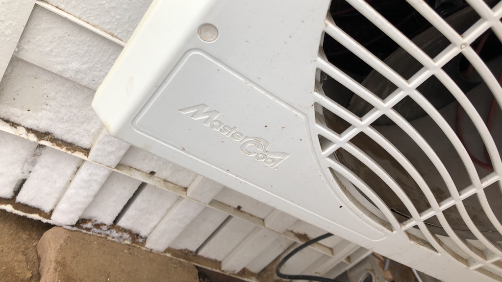 Photo Gently used Master Cool swamp cooler