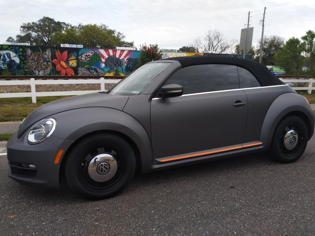 Photo 2014 VW BEETLE CONVERTIBLE ~~ CUSTOM 1 OF A KIND ~~ TAMPA BAY WHOLESALE CARS INC ~~