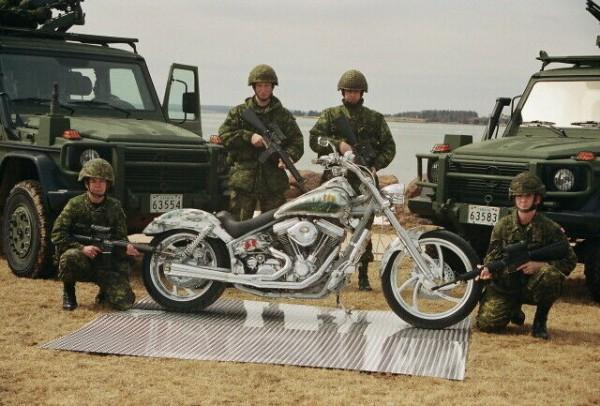 Photo 2002 Bigdog Tribute Custom Motorcycle For Sale