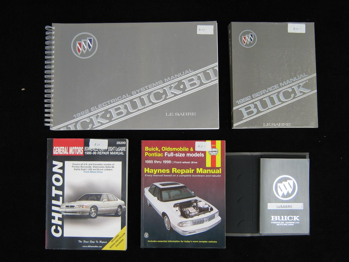 Photo 1992 Buick Le Sabre Manuals
