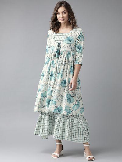 Photo LATEST SUMMER KURTAS & NAVY BLUE DRESS COLLECTION ONLY AT SHREELIFESTYLE