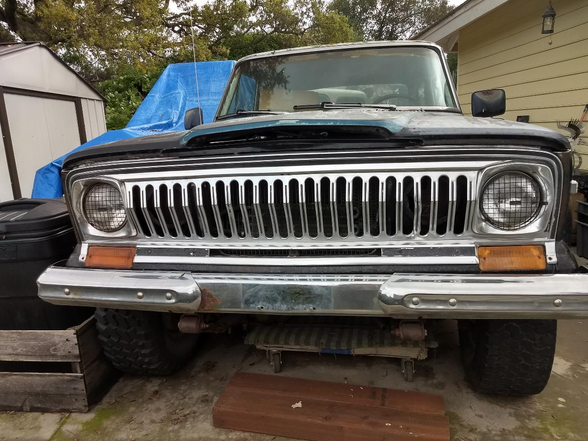 Photo 1977 Jeep Cherokee Chief