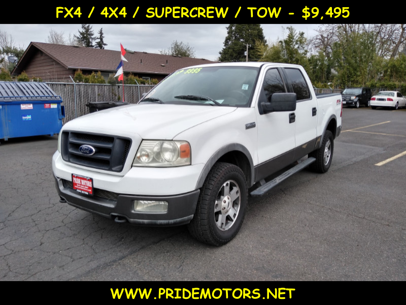 Photo 2004 FORD F150 SUPERCAB FX4 / 4X4
