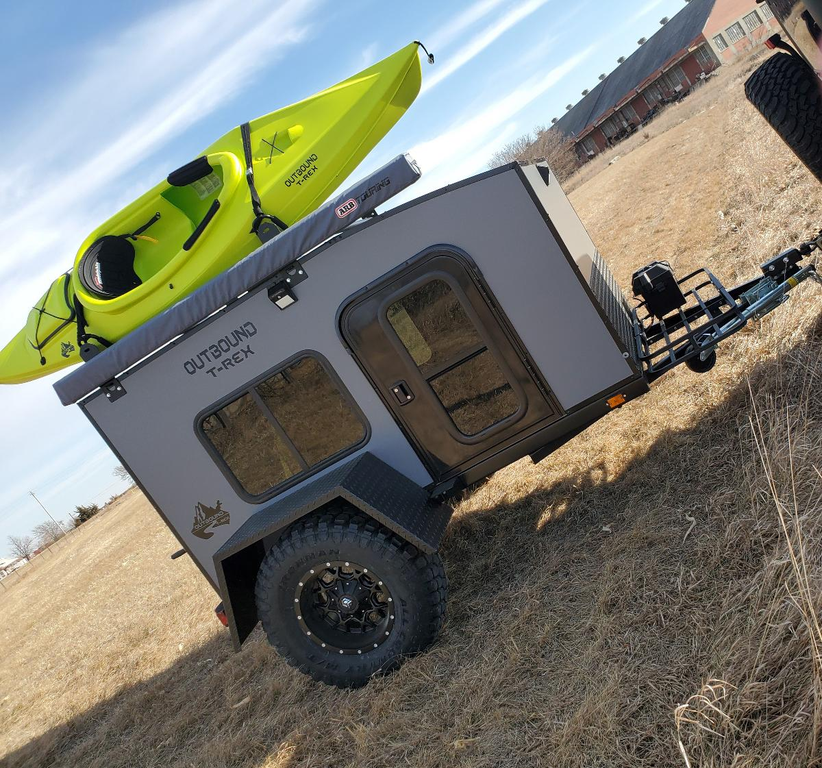 Photo Off Road Travel Trailer
