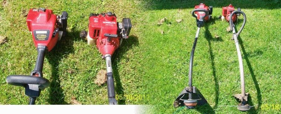 Photo TWO USED GAS WEED TRIMMERS------PICK UP ONLY------