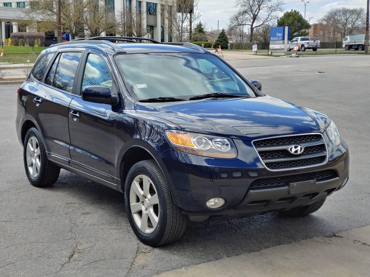 Photo 2007 Hyundai Santa Fe SUV FWD Blue Low Mileage
