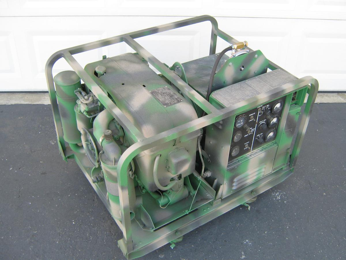 Photo Propane Powered Military Generator