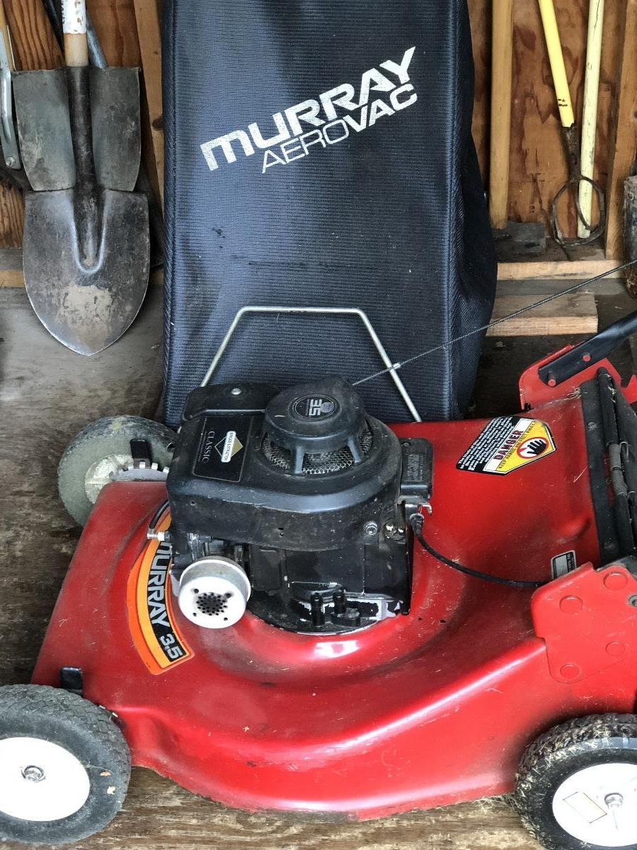 Photo Murray Lawn Mower 3.5 hp