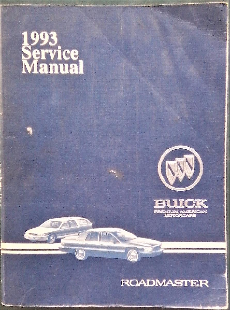 Photo 1993 Buick Roadmaster Shop Manual